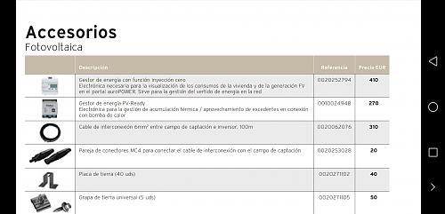 PRESUPUESTO  Y OPINIONES DE AEROTERMIA MAS PLACAS SOLARES EN MADRID QUITANDO CALDERA DE GAS-screenshot_20200808_175210_com.google.android.apps.docs.jpg