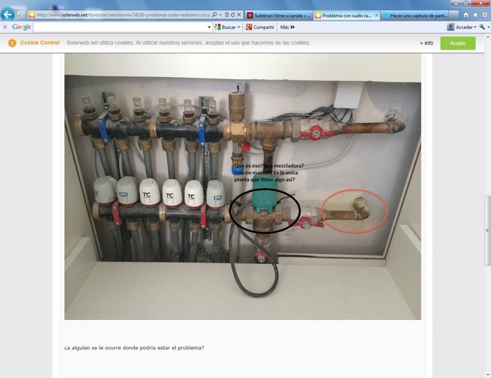 Problema con suelo radiante circuito de impulsi n en - Calefaccion para un piso ...