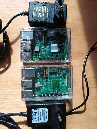 Dos Raspberry PI 3B con ICC lifetime cada una...-photo5769317848483737915.jpg
