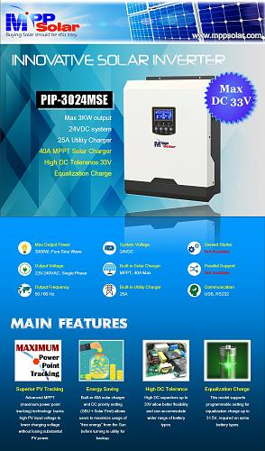 (MSE) inversor solar de 3kva 24v 3000w inversor SENOIDAL PURA 40A Cargador de seguimiento de punto de potencia máxima-3024mse_1-1-.jpg