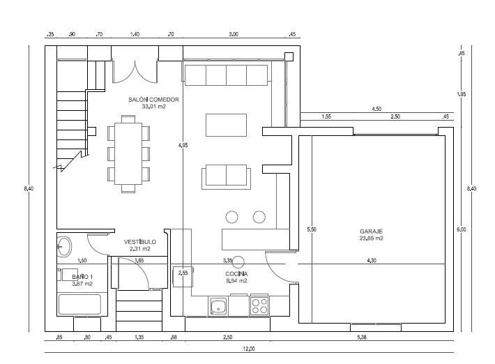Consejo sistema calefacci n vivienda unifamiliar segovia - Planos de viviendas unifamiliares ...