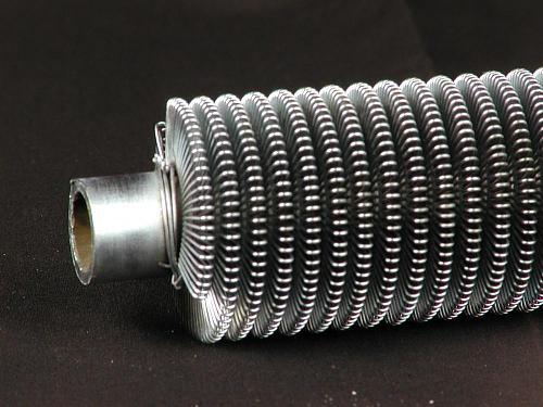 [Brico] Aprovechar calor que se va por el tubo de gases-aleteado_tubo.jpg