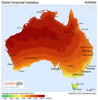 Australia: Paraiso del autoconsumo...  mientras en España....-330px-solargis-solar-map-australia-.png