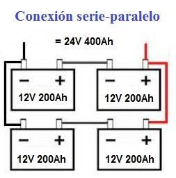 how to connect 2 12v batteries to make 24v