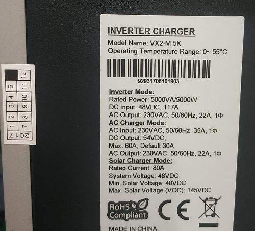 Ayuda parametros configuración Inversor Híbrido Axpert MKS 5000VA PF1 MPPT  80A  48V-img_20180709_191410.jpg