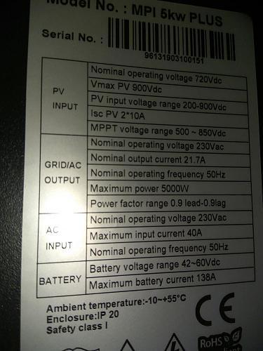 INVERSOR MPP SOLAR  MPI 5 KW  +  LITIO-img_20190421_195330.jpg