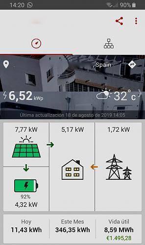 Nueva instalación de autoconsumo conectada a red. Novato con muchas dudas.-screenshot_20190818-142038_solaredge.jpg