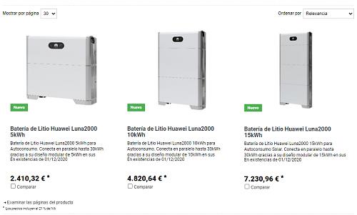Configurar inversor Huawei SUN2000L-4KTL-luna2000_precios.png
