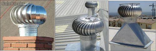 Salidas de humos chimeneas estufas for Salida de humos campana extractora