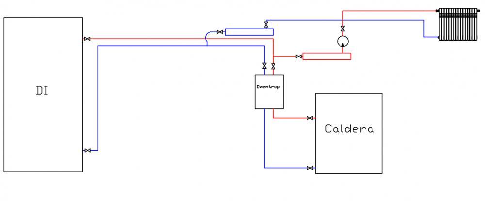 Forma mas eficiente de conectar un deposito de inercia - Calefaccion mas eficiente ...
