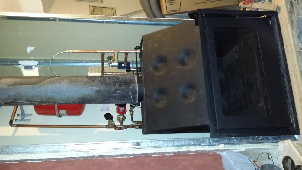 instalacion hidrochimenea le a baxi musa