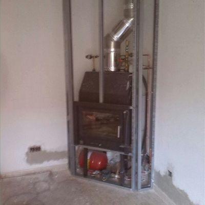 Poner chimenea calefactora diy for Chimenea calefactora