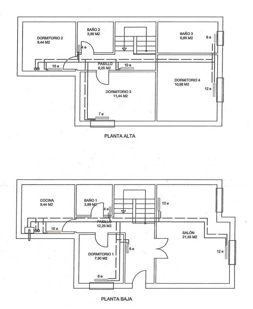 Instalaci n de chimenea para calefacci n y acs - Calefaccion lena radiadores ...