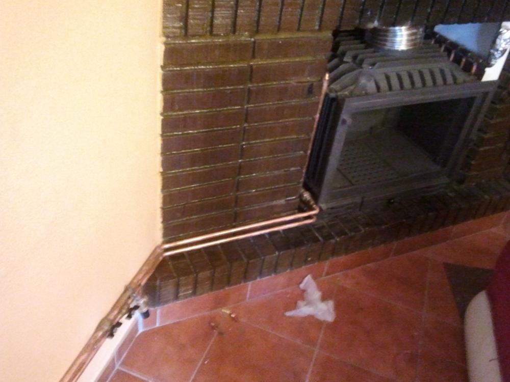 Intercambiador de calor en insert p gina 2 - Calefaccion de lena con radiadores ...