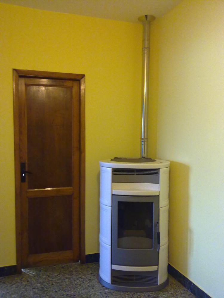 Termoestufa pellets o estufa de aire canalizable p gina 2 - Instalar estufa pellets piso ...