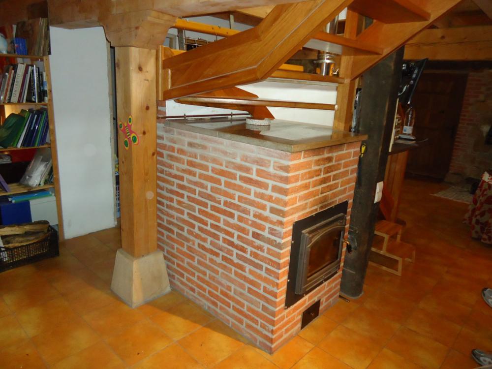 Como se fabrica una estufa rusa for Estufas ecologicas con chimenea