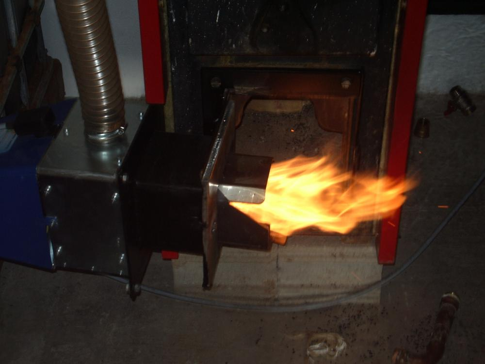 Regular quemador caldera gasoil roca