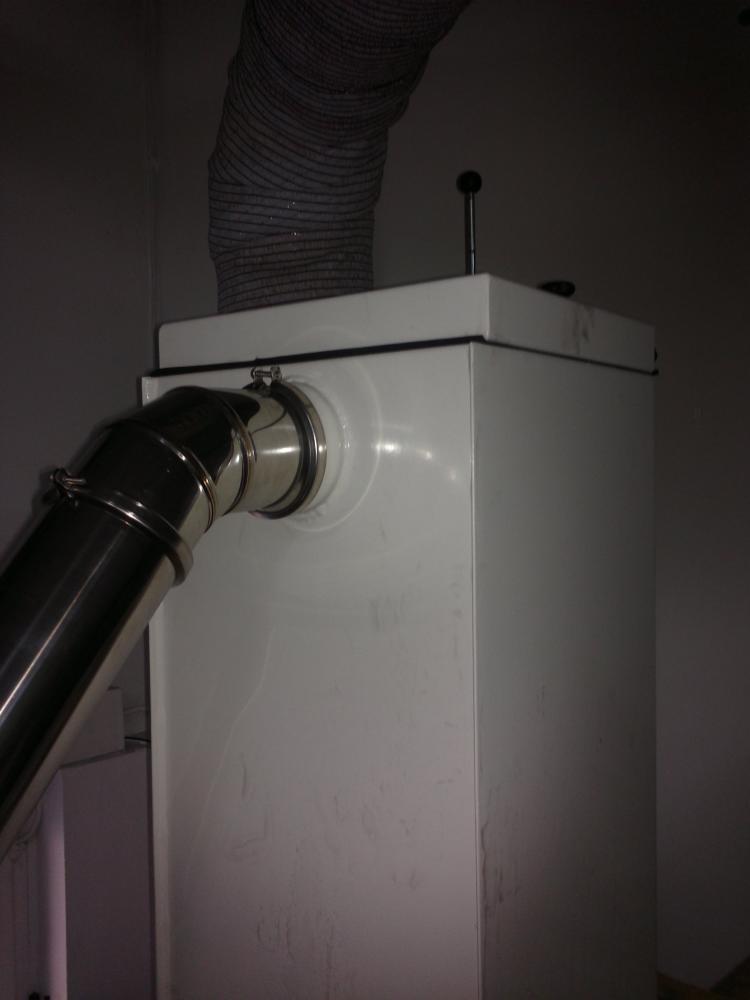 Filtro de humos de agua for Abbattitore fumi per stufe a pellet