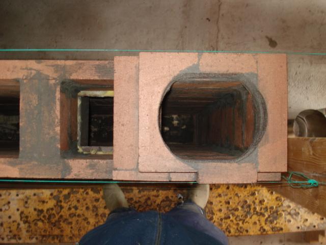 Como se fabrica una estufa rusa for Planos de cocina rocket