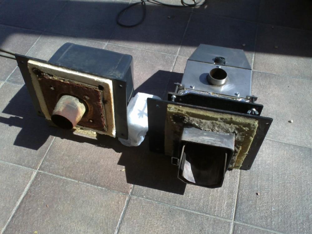 Instalaci n de un quemador de biomasa pellas x mini en caldera - Se puede instalar una caldera de biomasa en un piso ...