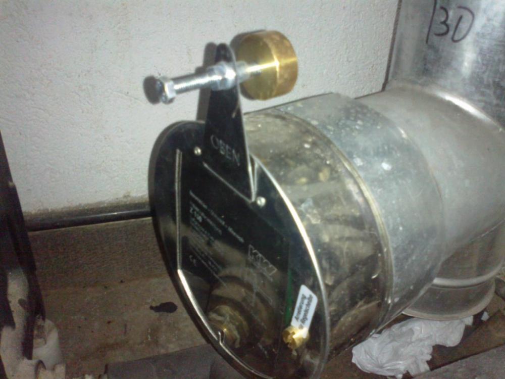 Instalaci n de un quemador de biomasa pellas x mini en - Cocinar en la chimenea ...