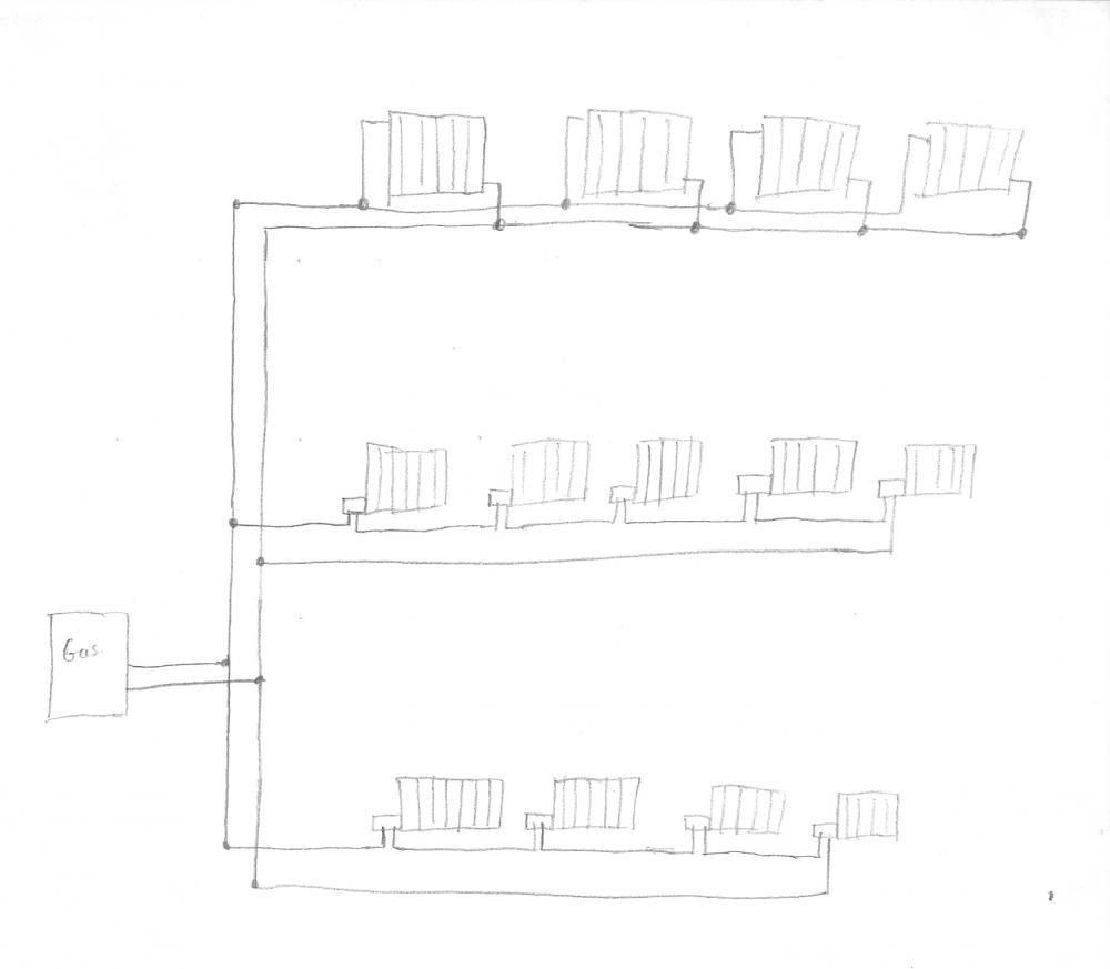 Chimenea De Lea Para Radiadores Awesome Elegant Split Cermico  ~ Precio Instalacion Calefaccion Radiadores