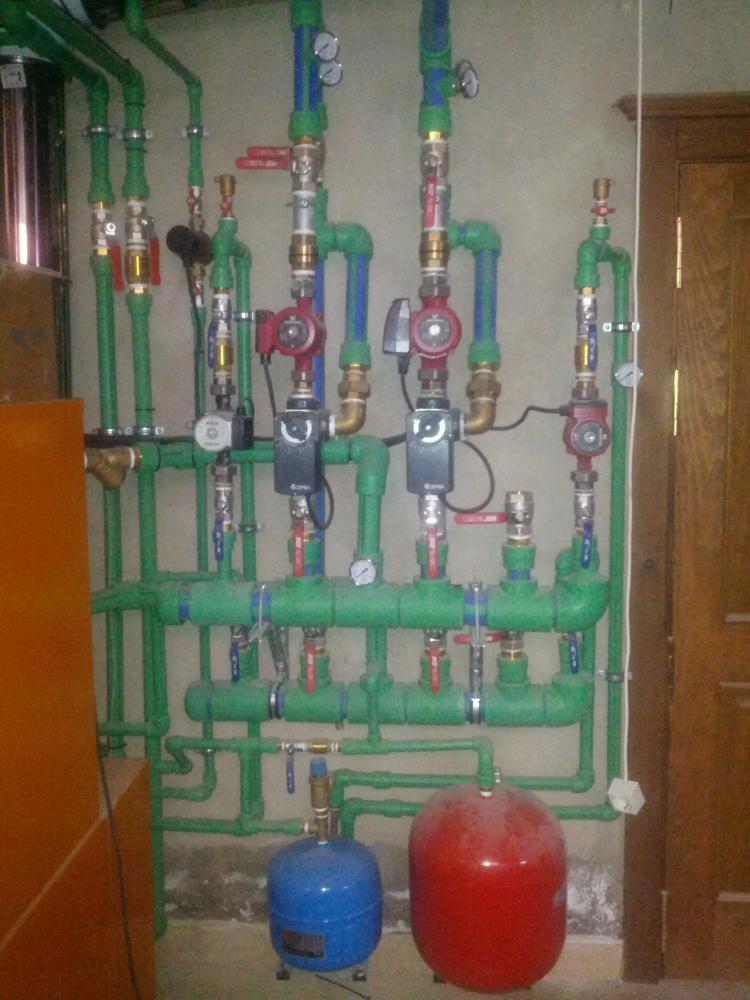 Sistema de calefacci n para planta 130 150m2 - Poner calefaccion en casa ...