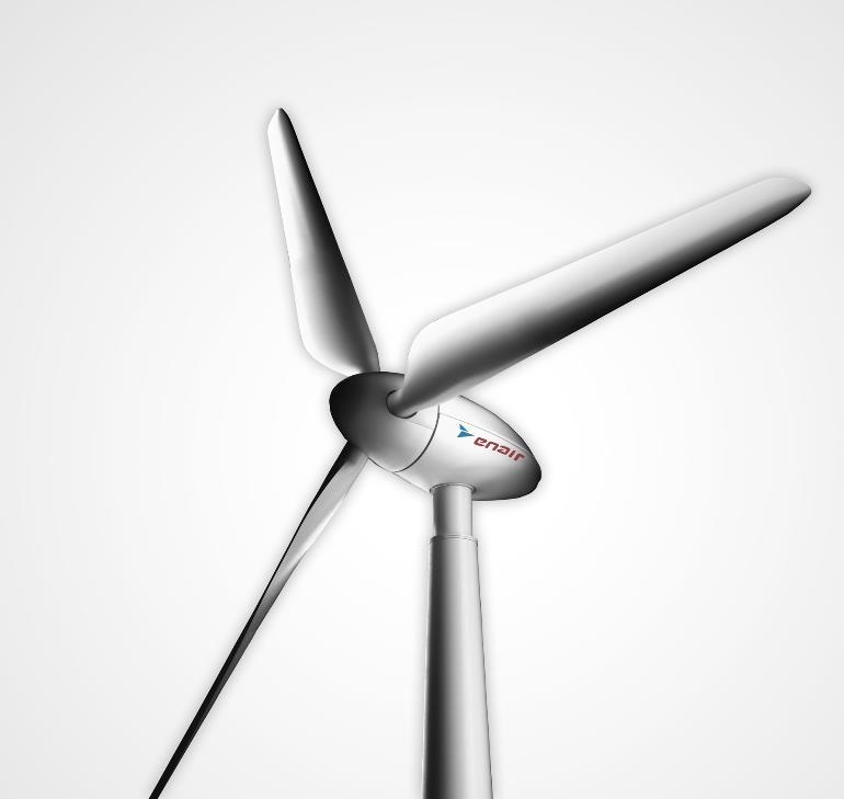 Pulsa en la imagen para verla en tamaño completo  Nombre: Aerogenerador E200 de 20kW, Enair Energy.jpg Visitas: 107 Tamaño: 23.2 KB ID: 18239