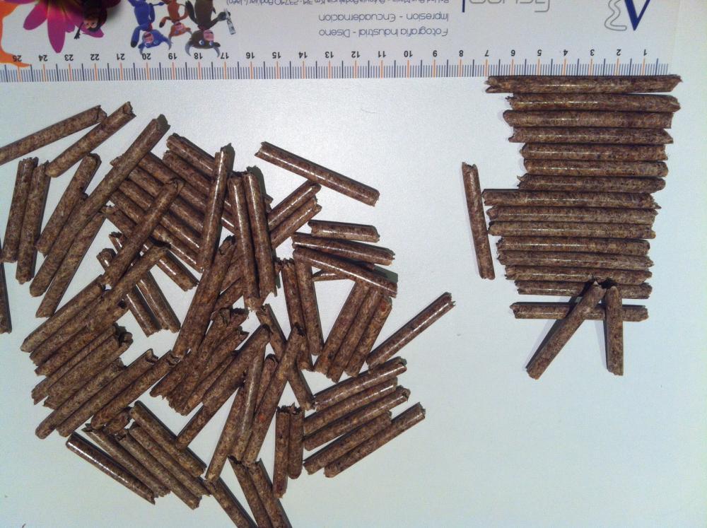 Precio saco de pellets trendy estufa pellets ecoforest - Pellets precio kilo ...
