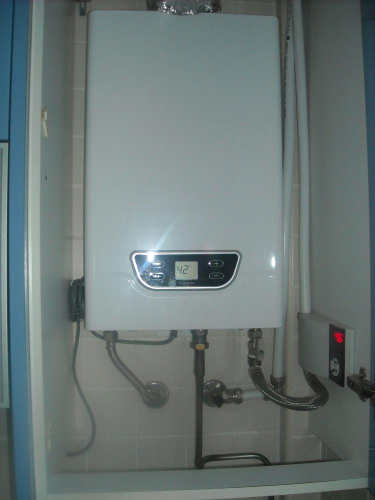 Dudas sobre instalaci n de termo el ctrico como apoyo a - Termo electrico instalacion ...
