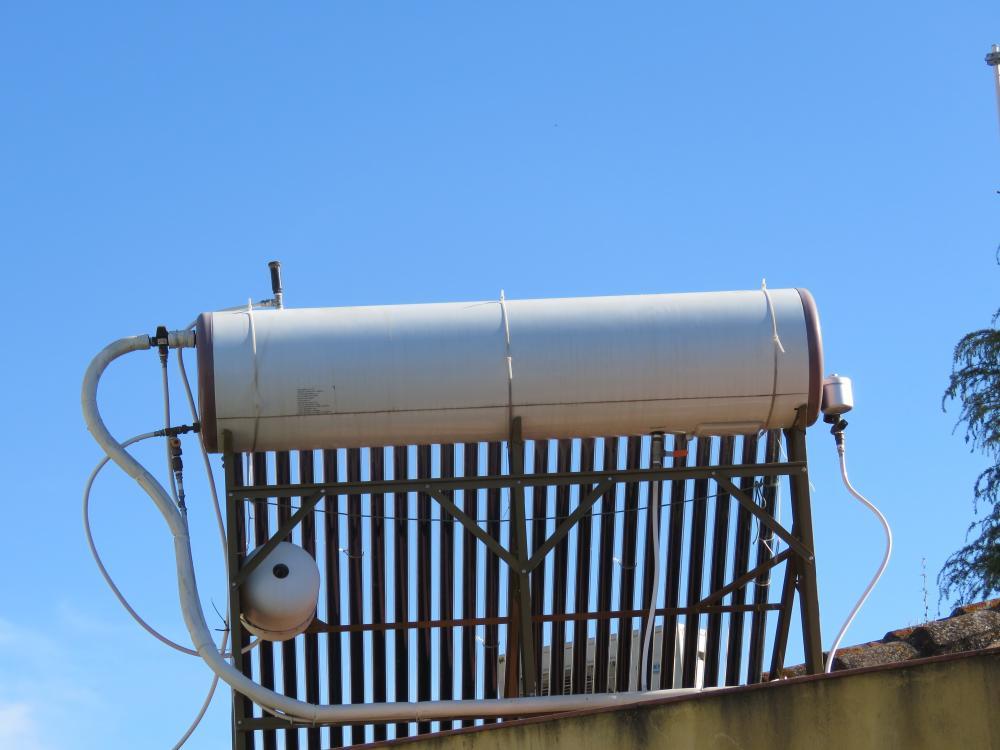 Brico arreglos en placa solar tubos de vac o por - Placa solar termica ...
