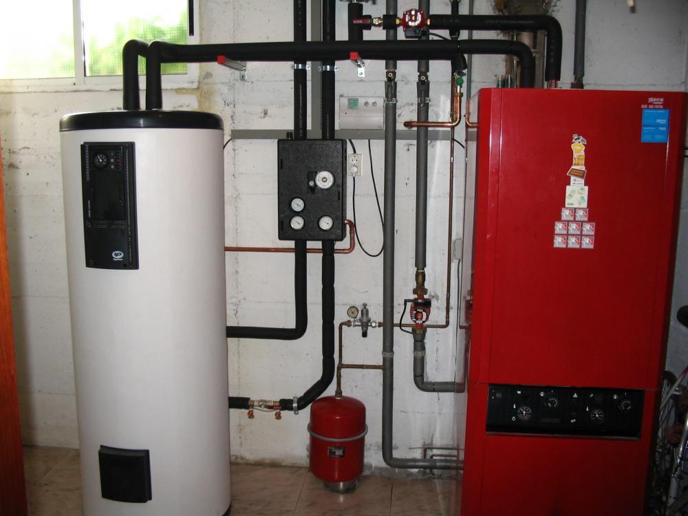 kit termosolar para apoyo de caldera de gasoil