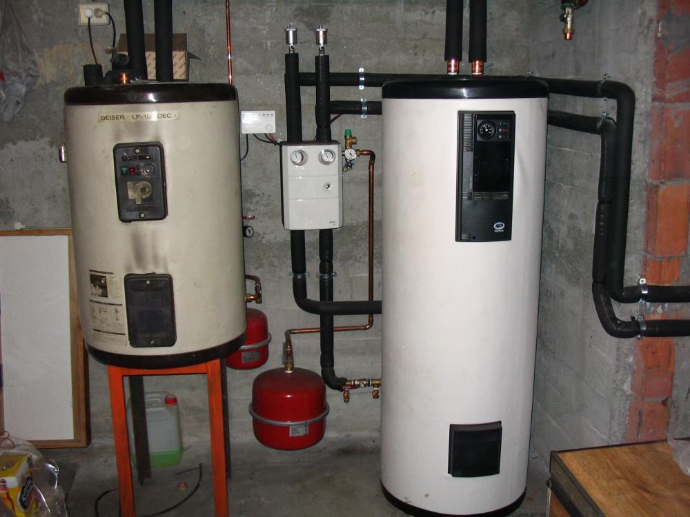 Kit termosolar para apoyo de caldera de gasoil - Precios de calderas de gasoil ...